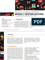 Programa Completo Encuentro Musica y Gestion Cultural - Flacso Argentina
