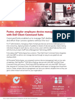 Faster, simpler employee device management with Dell Client Command Suite