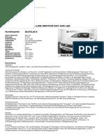 Volkswagen Passat 2,0 Tdi Dsg Bmt R-line 4motion Dcc Ahk Led
