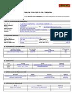 Formato de Ficha de Solicitud