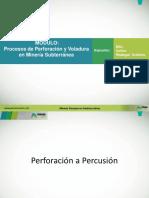 Perforacion y Voladura UG (CRO2015)