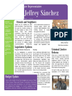 Representative Jeffrey Sánchez April 2018 Newsletter