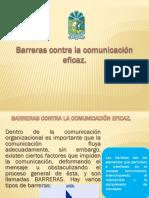 Barreras Conta La Comunicacion Eficaz