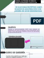 Detección de Glucomacropéptido (Gmp) Como Indicador