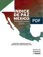 Índice de Paz México 2018