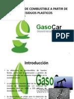 Obtención de combustibles a partir del plastico