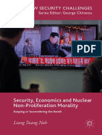 (E-Book) Security Economics and Nuclear Non-Proliferation Morality Keeping or Surrendering the Bomb-Palgrave