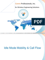 Idle Mode Mobility & Call Flow