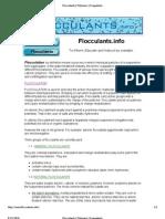 Flocculants _ Polymers _ Coagulants