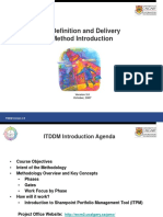 ITDDM Introductory November 25