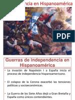 10. La Independencia en Hispanoamérica