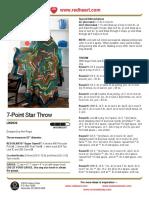 7 Point Star Throw.pdf