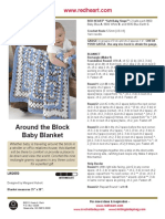 Around the Block Baby Blanket