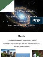 Matéria e Energia_1ª Aula