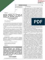 Decreto Supremo Que Aprueba Los Criterios Que Deben Observar Decreto Supremo n 001 2018 Minedu 1607191 2