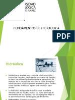hidráulica fundamentos