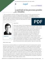 Uso de La Prueba Pericial en Los Procesos Penales en Chile_ Riesgos y Desafíos