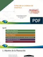 Planning Dentro de La Cadena de Suministro y Logística