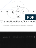 2001 the Physics of Communication