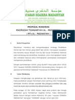 1.0PROPOSAL PENDIRIAN MTs