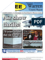 The Mid September, 2010 edition of Warren County Report