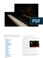 Light and Sound Concert Grand - User Manual