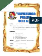 CAUSAS DE LA DESERCION DE UNIVERSITARIOS