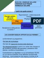 Presentation PV Et Energie Solaire