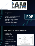 Arquitectura del computador - Memoria Ram