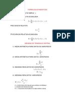 Formulas Estadisticas2