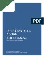 Clase Direccion de La Accion Empresarial-1