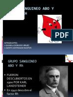 GRIPO SANGUINEO