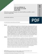 Artigo Avaliacao Multicritério Da Acessibilidade - Scielo