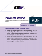 Ch 5 Place of Supply