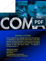 Coma Causes and Management