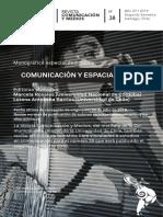 COMUNICACIÓN Y ESPACIALIDAD - Universidad de Chile