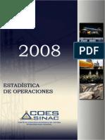 Estadistica de Operacion 2008