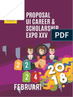 Proposal UI Career Expo XXV