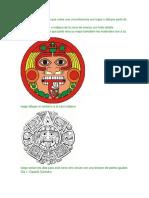 Calendario Azteca Con Glifos