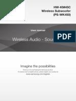 Samsung Hw Km45c User Manual