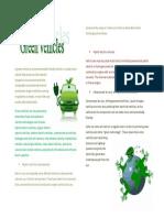 A Green Vehicle or Environmentally
