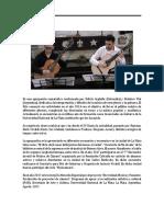 CV Dúo Arguello - Viel 2018