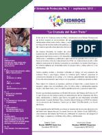 Boletin REDNAGES No 3 - La Cruzada Del Buen Trato