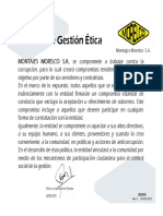 DG-016 Politica de Gestion Etica