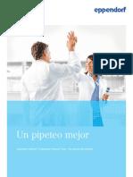 Folleto - Un Pipeteo Mejor - Eppendorf Xplorer y Eppendorf Xplorer Plus- Las Pipetas Electrónicas