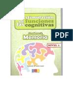 Estimulacion de Las Funciones Ejecutivas MEMORIA