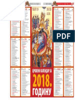 Crkveni Kalendar 2018 - Večernje Novosti