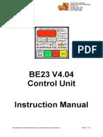 manual be23
