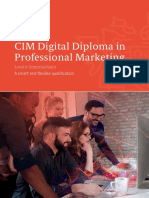Level 6 Digital Diploma in Professional Marketing Qualifications