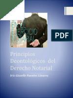 PRINCIPIOS DEONTOLÓGICOS DEL DERECHO NOTARIAL